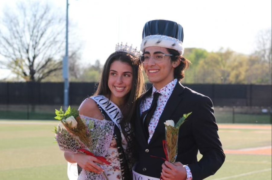 """The 2020 Homecoming King and Queen, Alex Quesada and Taylor Berry were finally announced towards the end of the event. """" Sixteen years ago, my sister actually won Homecoming Queen,"""" Berry said. """" It's kind of cool because I'm the youngest of my family and she's the oldest and we are the only girls."""""""